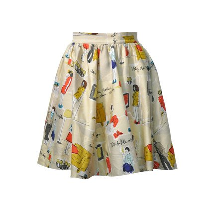 Authentic Second Hand Kate Spade Garance Dore Skirt (PSS-283-00008) - THE FIFTH COLLECTION