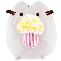Buy Pusheen the Cat with Popcorn 24cm Plush at ARTBOX