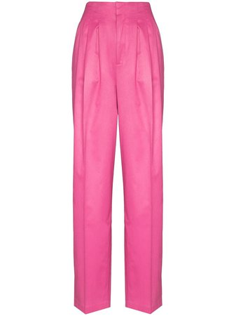 ROTATE Janis high-waist trousers - FARFETCH