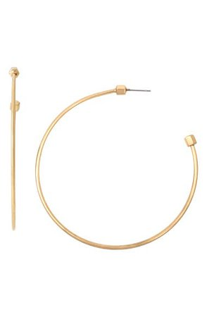 AllSaints Skinny Hoop Earrings | Nordstrom