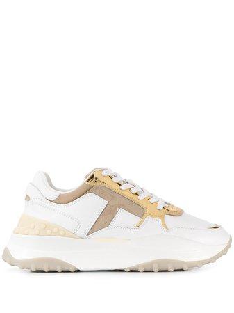 Tod's Leather Sneakers - Farfetch