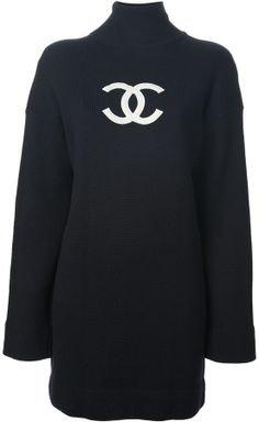 (19) Pinterest - Chanel knit sweater dress by Binda Fashion   Coco Chanel