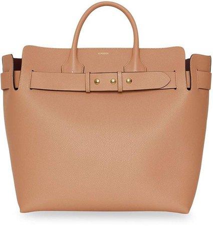 The Large Leather Triple Stud Belt Bag