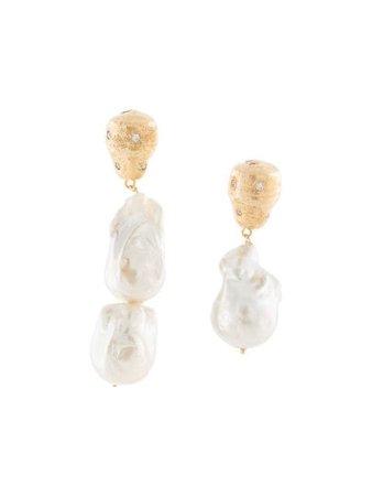 Joanna Laura Constantine Feminine Waves Earrings - Farfetch