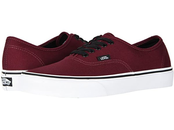Vans Authentic™ Core Classics burgundy| Zappos.com
