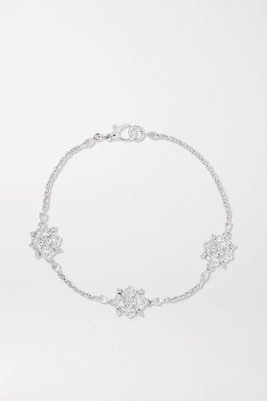 White gold Carlotta 18-karat white gold diamond bracelet | Buccellati | NET-A-PORTER