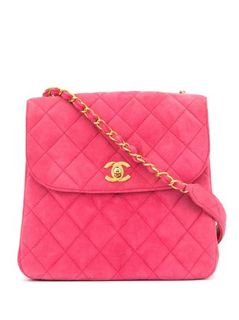 Chanel Pre-Owned 1997 Quilted Cc Shoulder Bag Vintage   Farfetch.Com