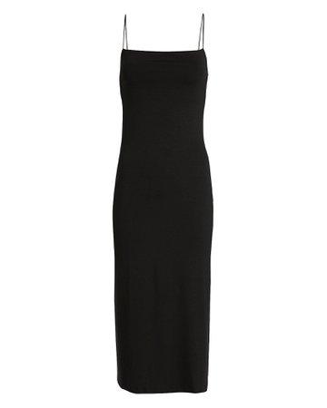 Enza Costa   Strappy Jersey Slip Dress   INTERMIX®