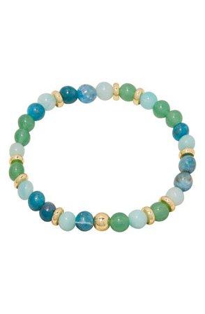gorjana Power Stone Mantra Bracelet | Nordstrom