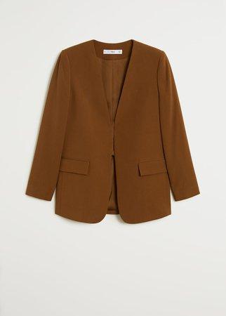 Flowy blazer - Women | Mango USA