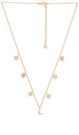 Child of Wild Celestial Stars & Moons Necklace in Gold | REVOLVE