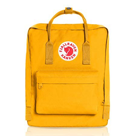 Amazon.com | Fjallraven - Kanken Classic Backpack for Everyday, Warm Yellow | Casual Daypacks