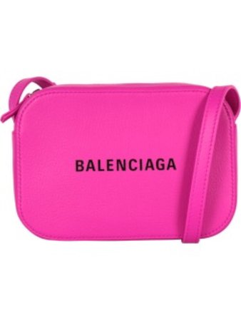 Balenciaga hat pink purse