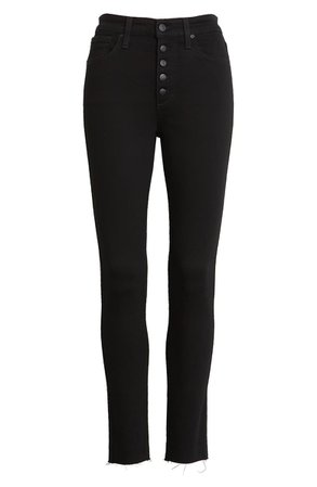 Joe's The Charlie High Waist Raw Hem Ankle Skinny Jeans (Regan) | Nordstrom