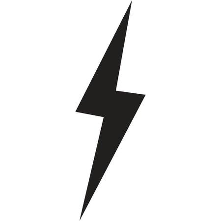 black lightning bolt - Google Search