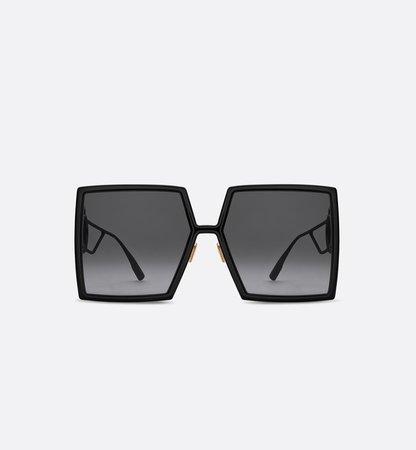 30Montaigne Black Square Sunglasses - products | DIOR