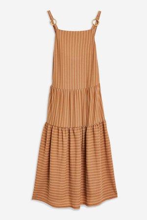 Stripe Midi Dress | Topshop