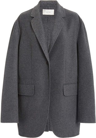 The Row Obine Oversized Cashmere-Wool Coat