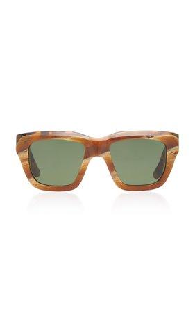 Victoria Beckham Square-Frame Acetate Sunglasses