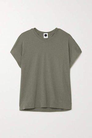 Net Sustain Organic Cotton-jersey T-shirt - Green