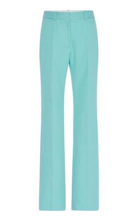 High-Waisted Tapered Cotton Pants by Victoria Beckham | Moda Operandi