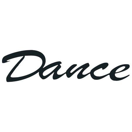 Dance word 1