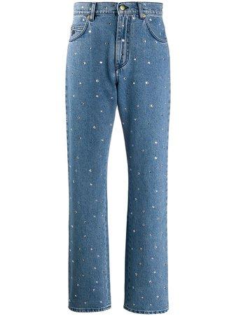 Philosophy Di Lorenzo Serafini Embellished Mom Jeans - Farfetch