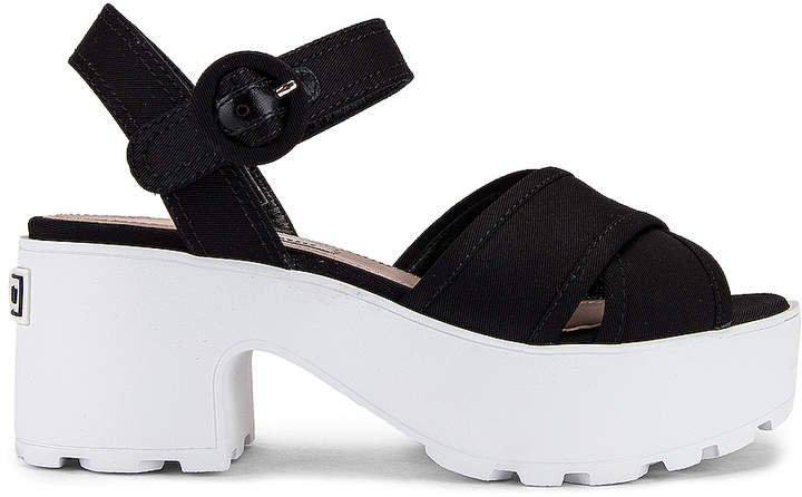 Platform Sandals in Black | FWRD