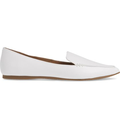 Steve Madden Feather Loafer Flat (Women) | Nordstrom
