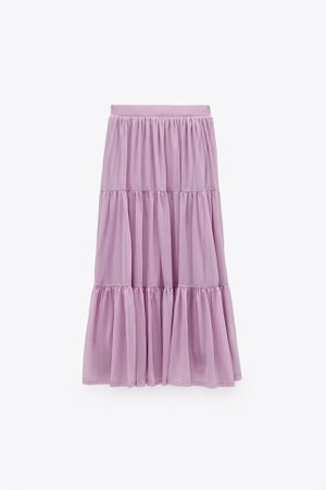TULLE SKIRT TRF | ZARA India