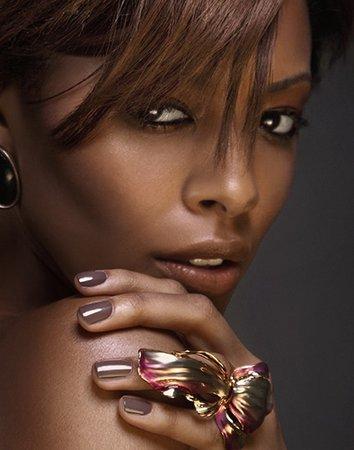Choosing The Perfect Nude Nail Polish for Dark Skin Tones | soulfulbeauty.com