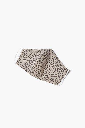 Cheetah Print Face Mask | Forever 21