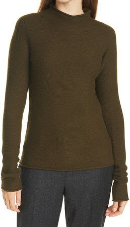 Seamless Turtleneck Cashmere Sweater