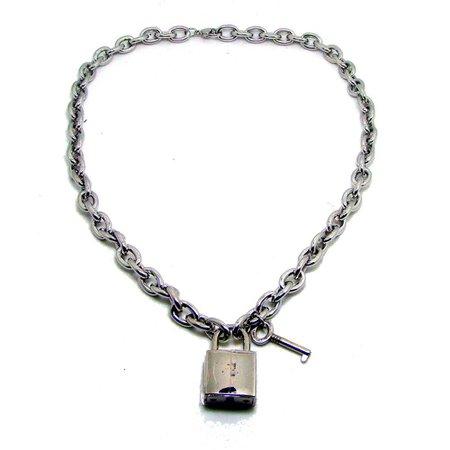 Lock & Key Chain Necklace – Blvss Apparel