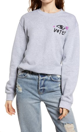 Vote Cotton Blend Sweatshirt