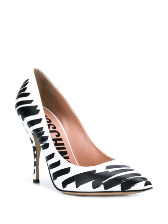 Moschino brushstroke pumps $261 - Buy SS19 Online - Fast Global Delivery, Price
