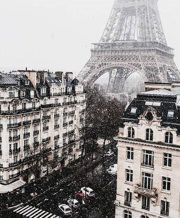 snow paris
