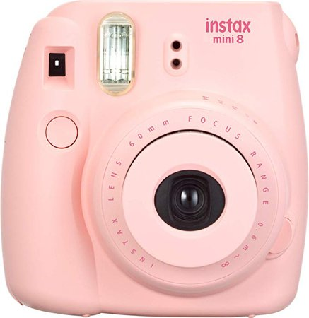 Amazon.com : Fujifilm Instax Mini 8 Instant Camera (Pink) (Discontinued by Manufacturer) : Polaroid Camera : Camera & Photo