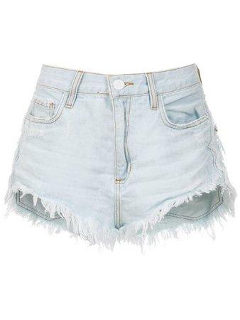 John John Short Jeans Desfiado - Farfetch