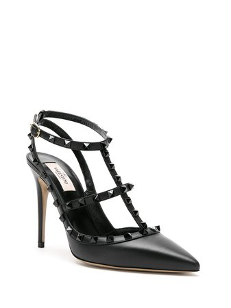 Valentino Garavani Rockstud-embellished pumps