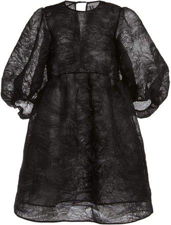Cecilie Bahnsen Mabel Textured Organza Midi Dress