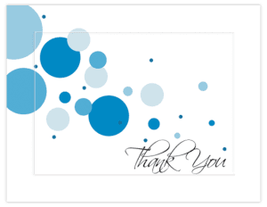 FL 42 – Bubbles Blue – SayangNari Greeting Cards