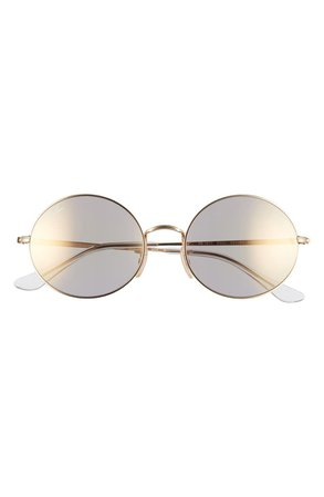 Ray-Ban 54mm Polarized Round Sunglasses | Nordstrom