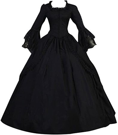 Amazon.com: 1791's lady Women's Victorian Rococo Gown Maiden Dress: Clothing
