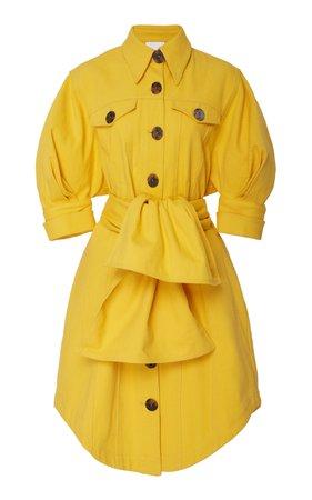 Acler Priestly denim mini dress Size: 4