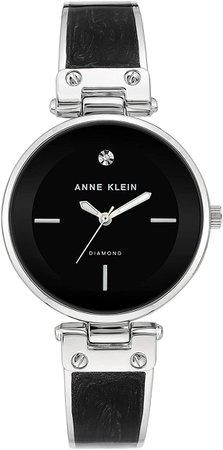 Anne Klein Dress Watch (Model: AK/2513BKSV): Watches