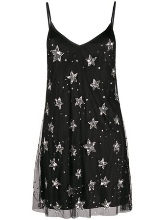 P.a.r.o.s.h. Sequin-Embellished Star Dress