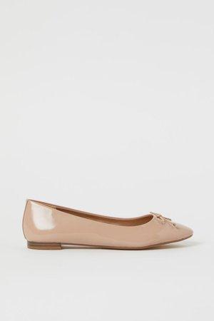 Ballet Flats - Beige - Ladies | H&M US