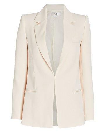 Victoria, Victoria Beckham Fitted Crepe Blazer | INTERMIX®