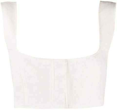 Sleeveless Cropped Top
